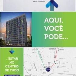 25 M² Estúdio Blue Line a 350 metros do metrô São Judas