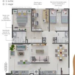 urbo vila prudente apartamento 3 dormitórios